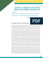 Adaptacion y mitigacion al cambio en los andes tropicales del Peru.pdf