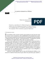 Hacia una justicia restaurativa en México