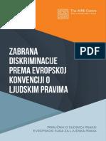 Zabrana Diskriminacije Prema EU Konvenciji o Ljudskim Pravima