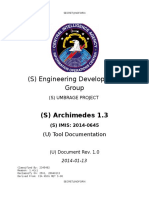 Archimedes Users Guide