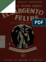 El Sargento Felope Gonzalo Picon Febres