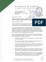 Karta - Preokupashon di desishon nan di maneho ku ta tumando lugá den Ministerio di GMN i Ministerio di GMN su departamento di Inspektie - final