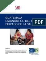 Diagnóstico del sector privado de Salud en Guatemala - 2015