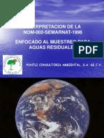 MUESTREO DE AGUA RESIDUAL