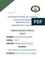 Trabajo Gubernamental Chile