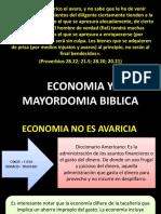Economia y Mayordomia Biblica