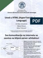 HTML v1. Osnove HTML