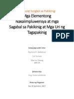 Balangkas Filipino