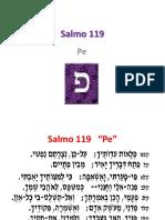 Salmo 119 Pe