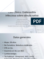 Endocarditis Streptococo Mitis