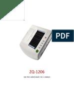 ZQ-1206- Electrocardiografo de 6 Canales......