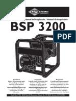 generador bsp 3200