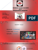 Pasos Para El Plan Grafico - Ciclismo - Carlos Mejia
