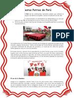 Fiestas Patrias de Perú