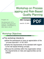 ABC Process Mapping and RBT Quality Planning