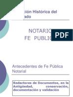 Evolución Histórica Del Notariado