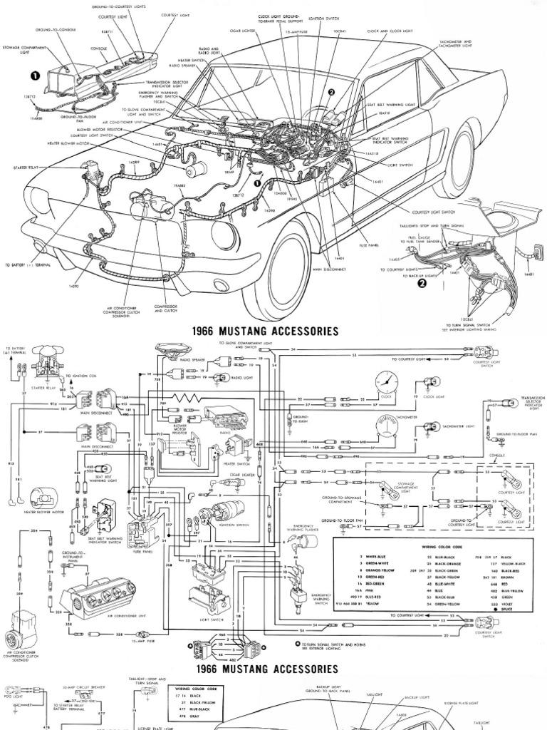 1966 Mustang Wiring