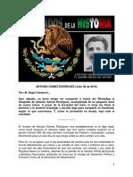 Olvidados de La Historia 01 - Antonio Gómez Rodríguez