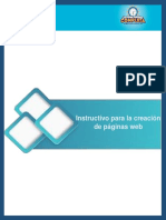 EPT-INSTRUCTIVO PARA LA CREACIÓN DE PÁGINAS WEB.pdf