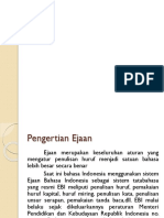 EJAAN Bhs Indonesia