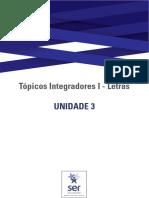 Guia de Estudos da Unidade 3 - Tópicos Integradores I - Letras-Português