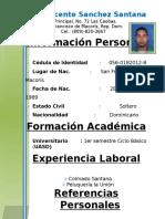 Abil Vicente Sanchez Santana