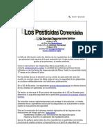 Los Pesticidas Comerciales