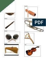 Instrumentos de los Pueblos de Guatemala