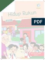 Buku Siswa Kelas 2. Tema 1. Hidup Rukun