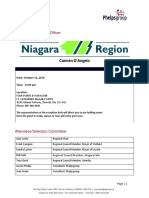 Candidate Information 2nd Interview - Chief Administrative Officer - Niagara Region - Carmen D%27Angelo