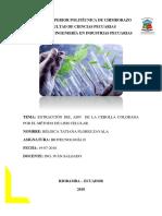 Informe Obtención Del ADN