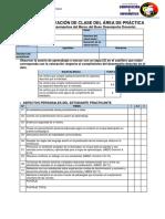 Guía de Observación de Clase Del Área de Práctica