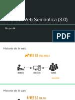 IA en La Web Semántica (3.0)