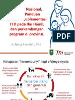 Materi Kebijakan TTD