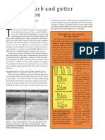 Concrete Construction Article PDF- Concrete Curb and Gutter Construction
