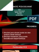 Automatic PCB Solvant