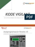 VIGILANT KIDDE -Autoprogramación Paneles Vs