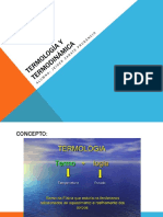 Termología y Termodinámica
