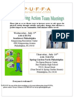 Active Living Invite July