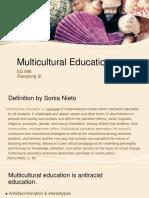 multicultural educaiton characteristics by sonia nieto   xiaoqiong si