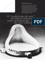 O Coeficiente de Arte de Marcel Duchamp