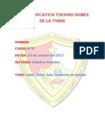 Unidad Educativa Toedoro Gomez de La Torre