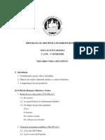 Direito Romano - 10-11 - Noite - Prof. Dr. Eduardo Vera Cruz Pinto