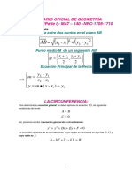 Formulario Oficial de Geometr a Anal Tica Parte i - Mat - 140 - Nrc - 1705-1710