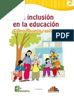 La inclusión en la educación Como hacerla realidad
