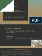 UNIDAD 3-Especificaciones de Construccion y Operacion