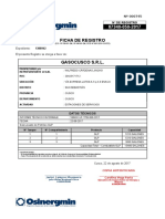 Ficha de Registro OSINERGMIN