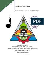 Proposal Gelang Ajar, Mugus & Raker 2018