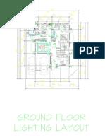 Ground Floor Lighting Layout-Model