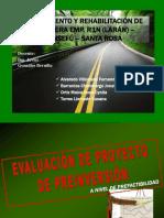 Proyecto de Preinversión - Carretera Monsefú Santa Rosa